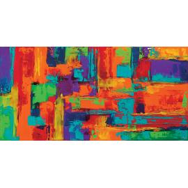 Quadro astratto multicolors 21