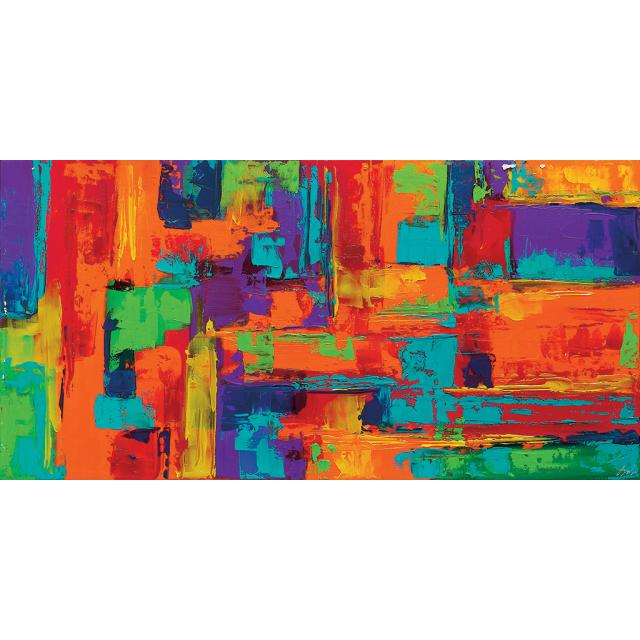 Quadro astratto multicolors 21 | quadri astratti materici