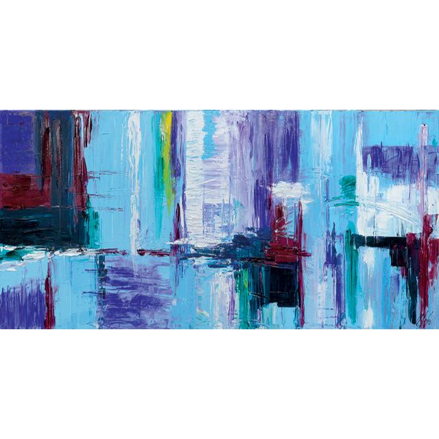 Astratto azzurro 21
