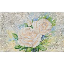 Rose rosa glitter