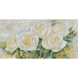 Cinque rose bianche