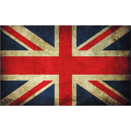 Svuotatasche bandiera inglese