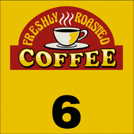 Svuotatasche coffee 6