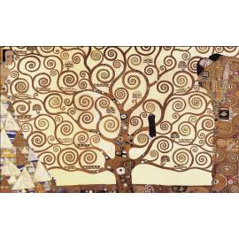 Svuotatasche albero vita Klimt