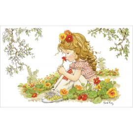 Svuotatasche Sarah Kay profumo di fiori