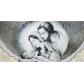 Sacra Famiglia nuvola avorio