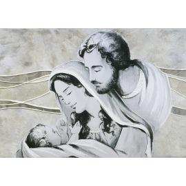 Sacra Famiglia colline avorio-argento media