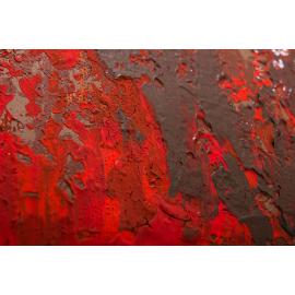 Dipinto astratto Fuoco ardente