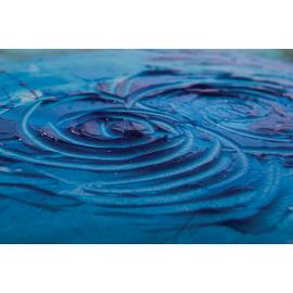 Dipinto astratto rose blu