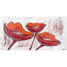 Fiori rosso arancioni