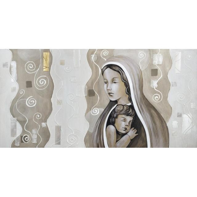 quadro maternità in avorio