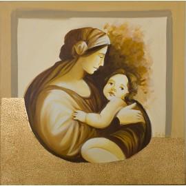 quadro maternità amore