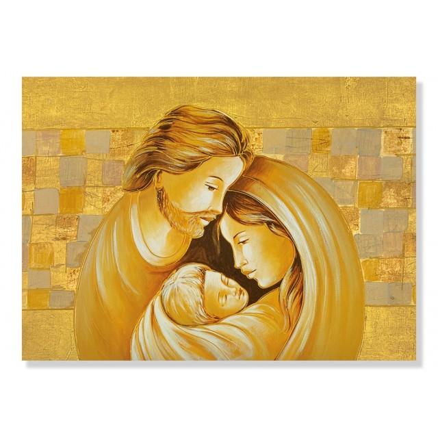 quadri sacra famiglia oro