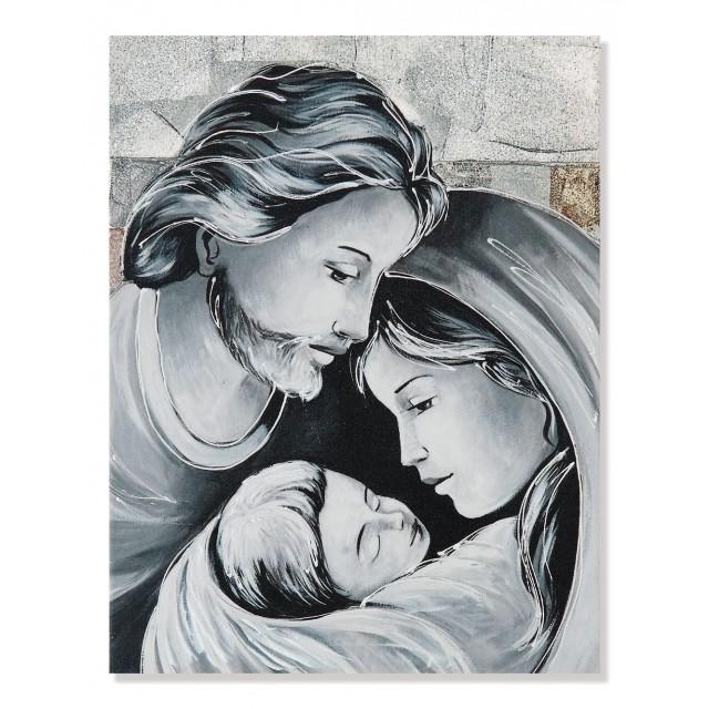 Quadro sacra famiglia quadri argento - Quadri e Arte