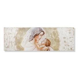 quadro maternità con swarovski