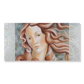 Quadro venere di Botticelli decori a mano
