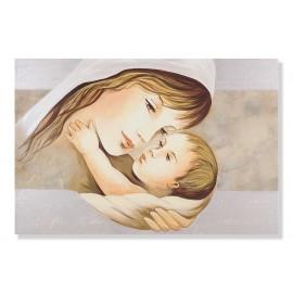 Quadro maternità con linea beige