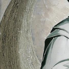 Quadro sacra famiglia parentesi in argento