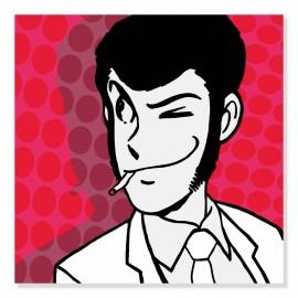 Quadro Lupin POP formato quadrato