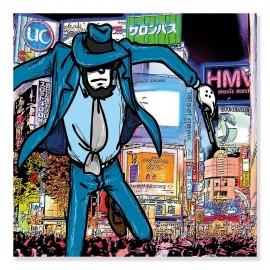 Quadro Jigen Tokyo formato quadrato
