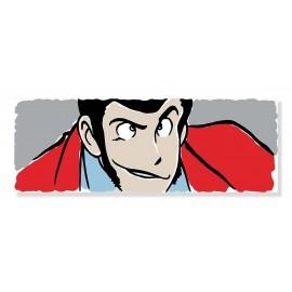 Quadro Lupin a colore formato rettangolo