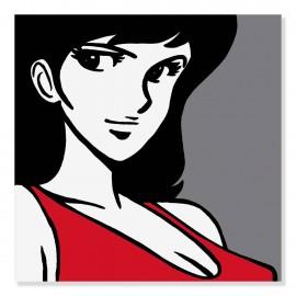 Quadro Fujiko sguardo sexy