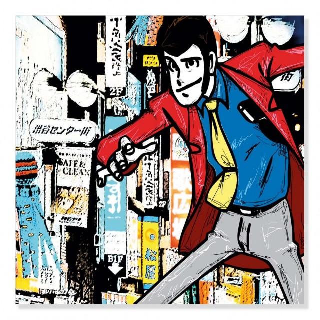 Quadro Lupin Tokyo
