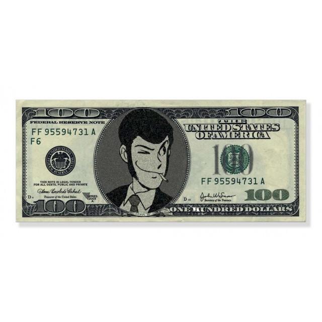 Quadro 100$ Lupin