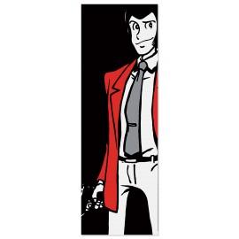 Quadro Lupin con pistola sguardo furbo