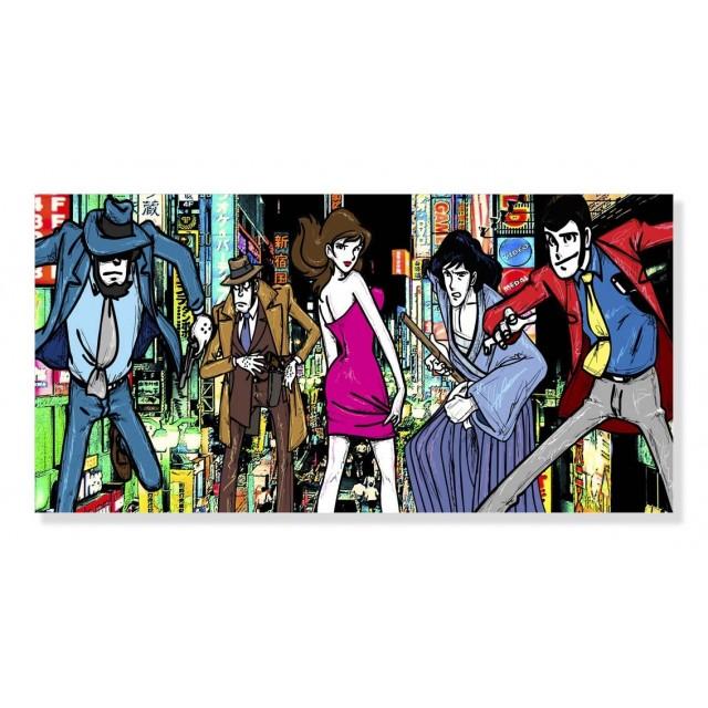 Quadro Gruppo Lupin Tokyo