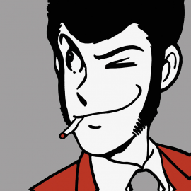 Svuotatasche Lupin