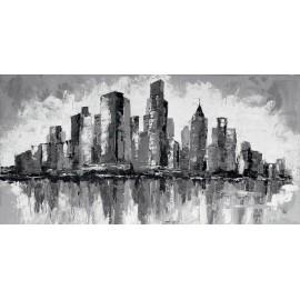 quadro new york bianco e nero