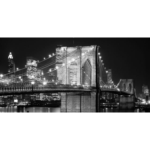 Quadro Brooklyn di notte