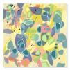 quadro astratto colori caldi