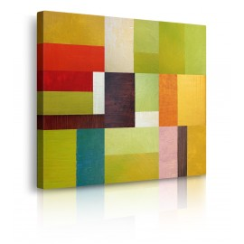 Quadro Astratto Color Study Abstract 2