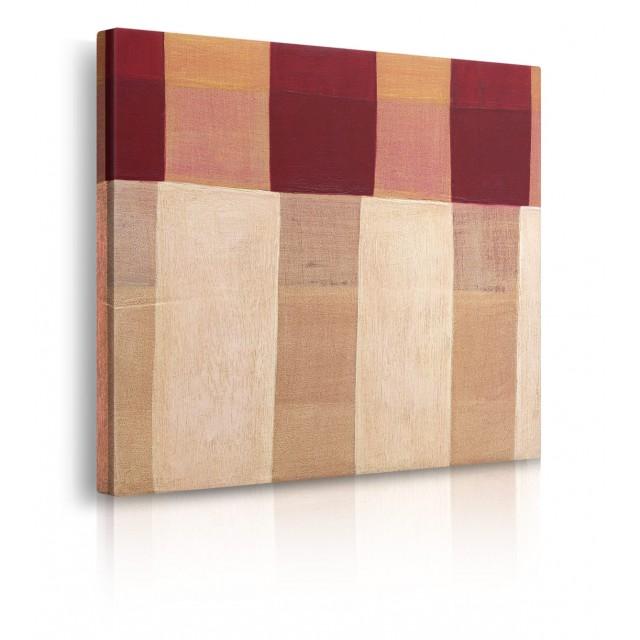 quadro astratto marrone prospettiva