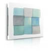quadro astratto quadrato prospettiva