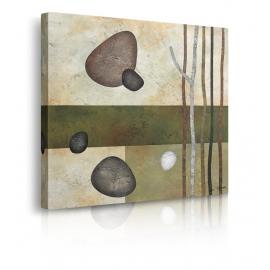 Quadro Astratto Sticks and Stones VI