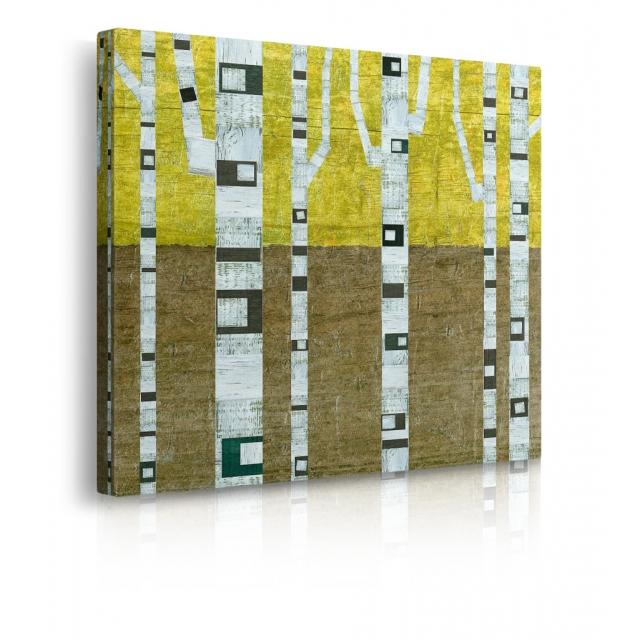 quadro astratto albero prospettiva