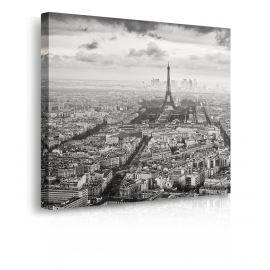 Quadro Parigi Tour Eiffel prospettiva