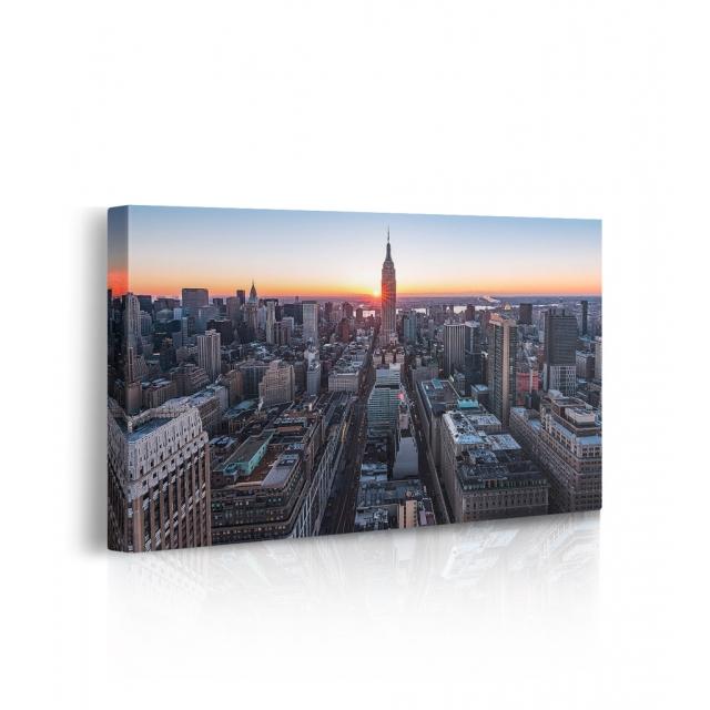 Quadro new york prospettiva