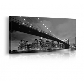 Quadro Brooklyn Bridge prospettiva