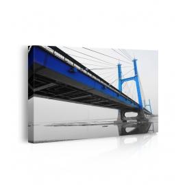 Quadro ponte sospeso prospettiva