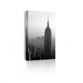 Quadri bianco e nero new york prospettiva