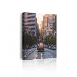 Quadro con tram prospettiva