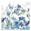 Quadro fiori blu