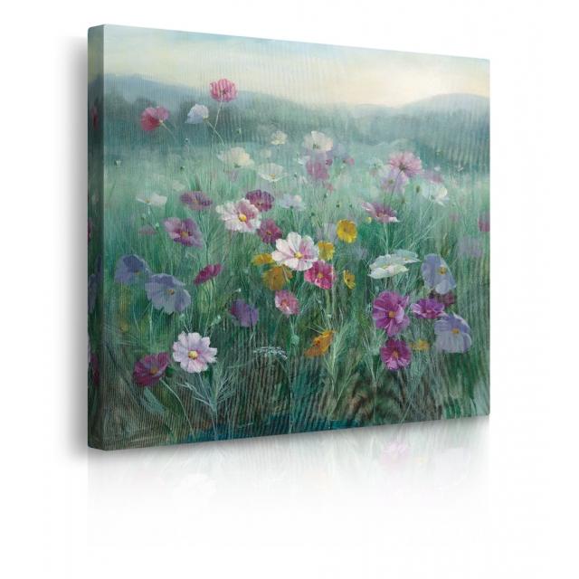 quadro prato fiorito prospettiva