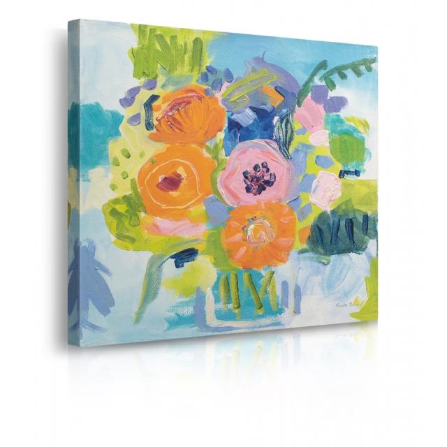 quadro fiori estate prospettiva