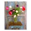 Quadro con tulipani