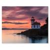 quadro tramonto sul mare
